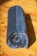 Yoga Matte aus Baumwolle blau