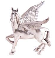 Pegasus - Messing versilbert